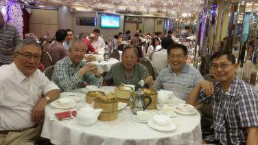 右起:梁永權、江敬燦、鄧定權、黃基炳、侯思傑