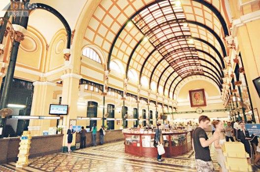 西貢郵政局內