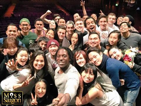 《西貢小姐》劇組成員來自亞洲多個國家