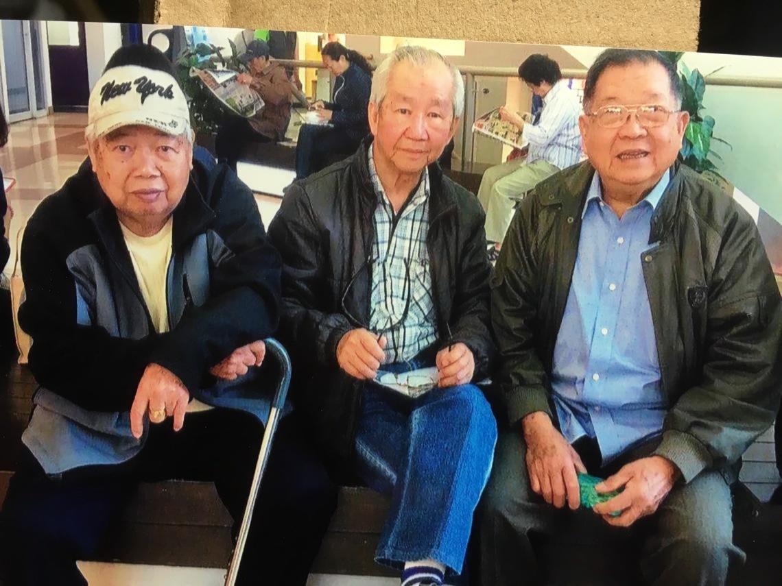 左起:甘汝標、黃基炳、陳福