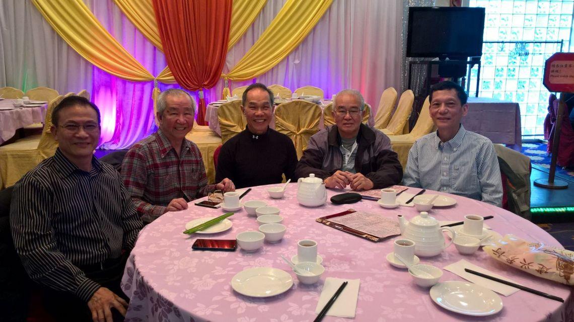 左起:劉操森、黃基炳、趙善強、鄒焯華、劉銘源