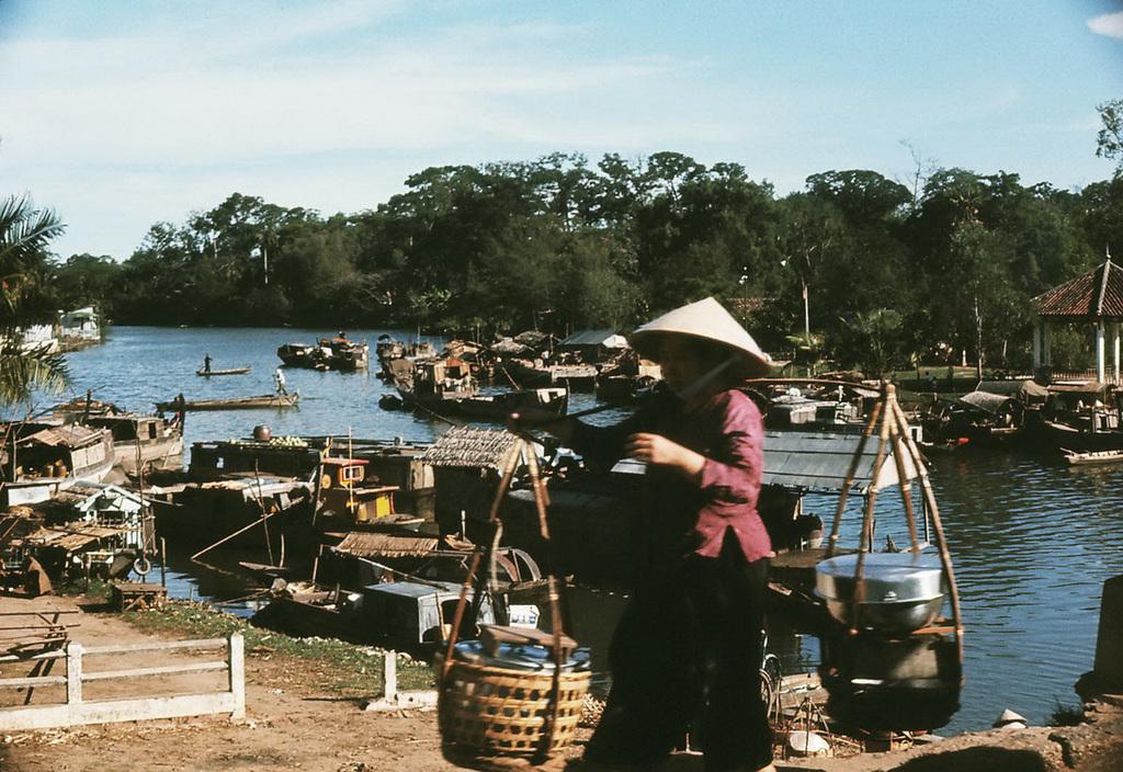 Khu vực chợ Thị Nghè, một ngày chưa xưa lắm.