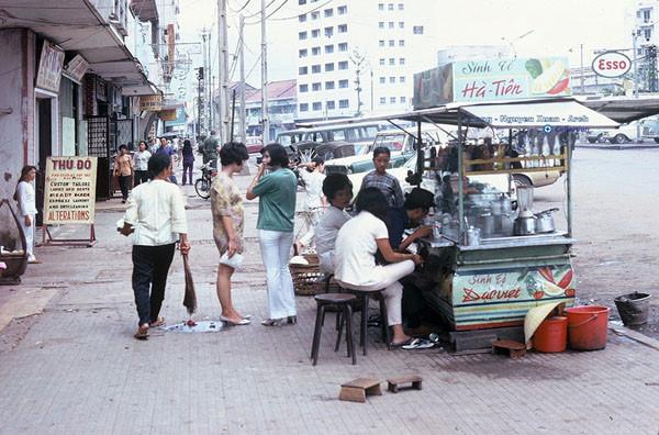 Sinh tố trên đường Nguyễn Cư Trinh (quận1)