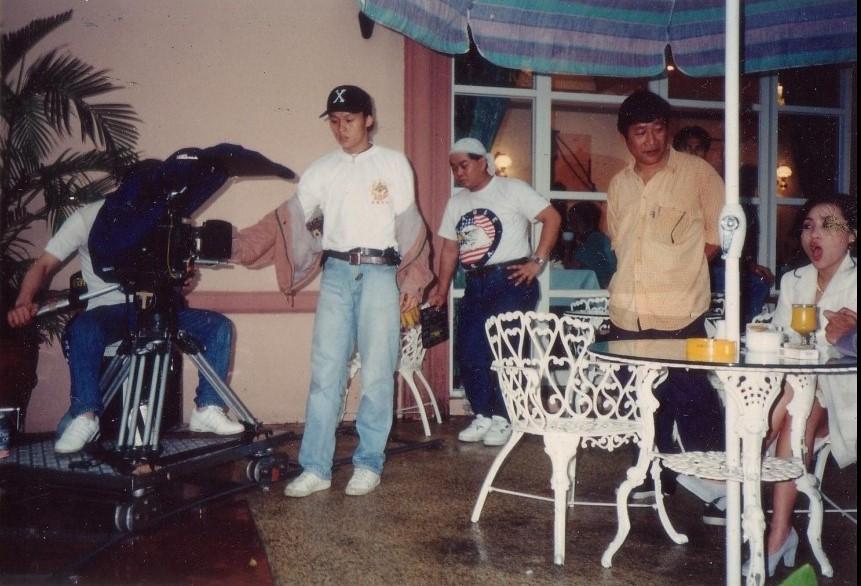 1990年代 拍戲2