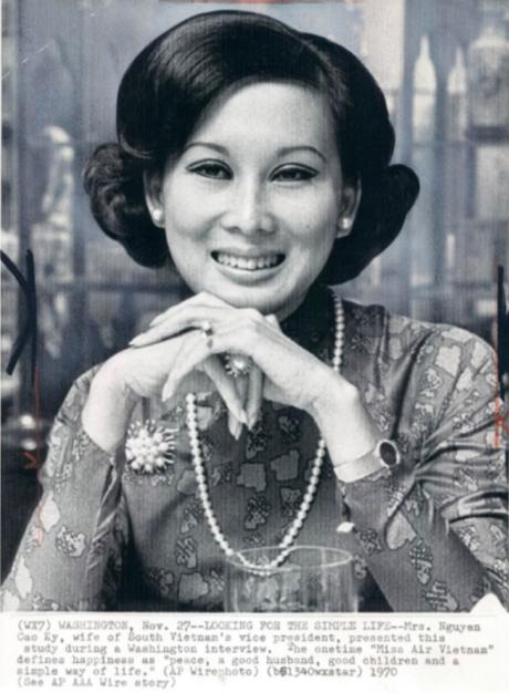 Mrs Nguyan Cao Ky