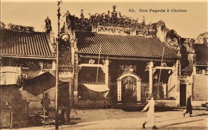 Chùa Bà Thiên Hậu, Hội quán Tuệ Thành, rue de Cay-mai (Nguyễn Trãi) - UNE PAGODE A CHOLON (1908)