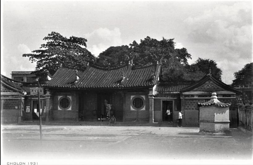 Cholon 1931 - Chùa Ông Bổn của người Phước Kiến