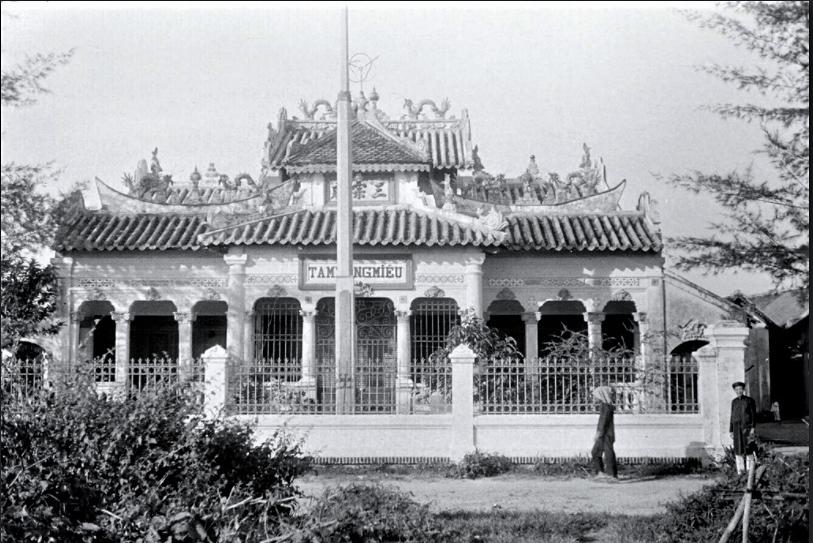 Saïgon 1931 - Chùa Tam Tông Miếu lúc ban đầu