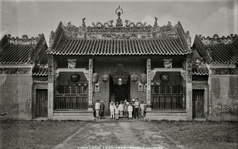 VINH LONG 1920-1929 - Pagode chinoise - Chùa Bà ở Vĩnh Long