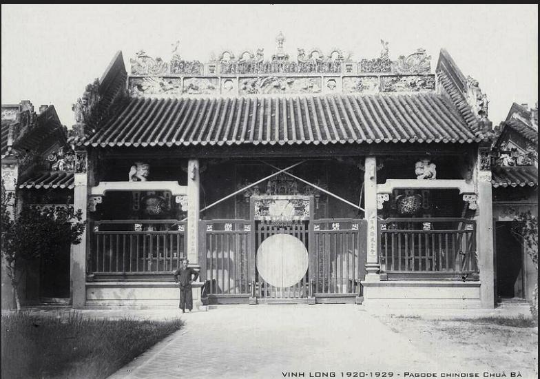 VINH LONG 1920-1929 - Pagode chinoise Chuà Bà