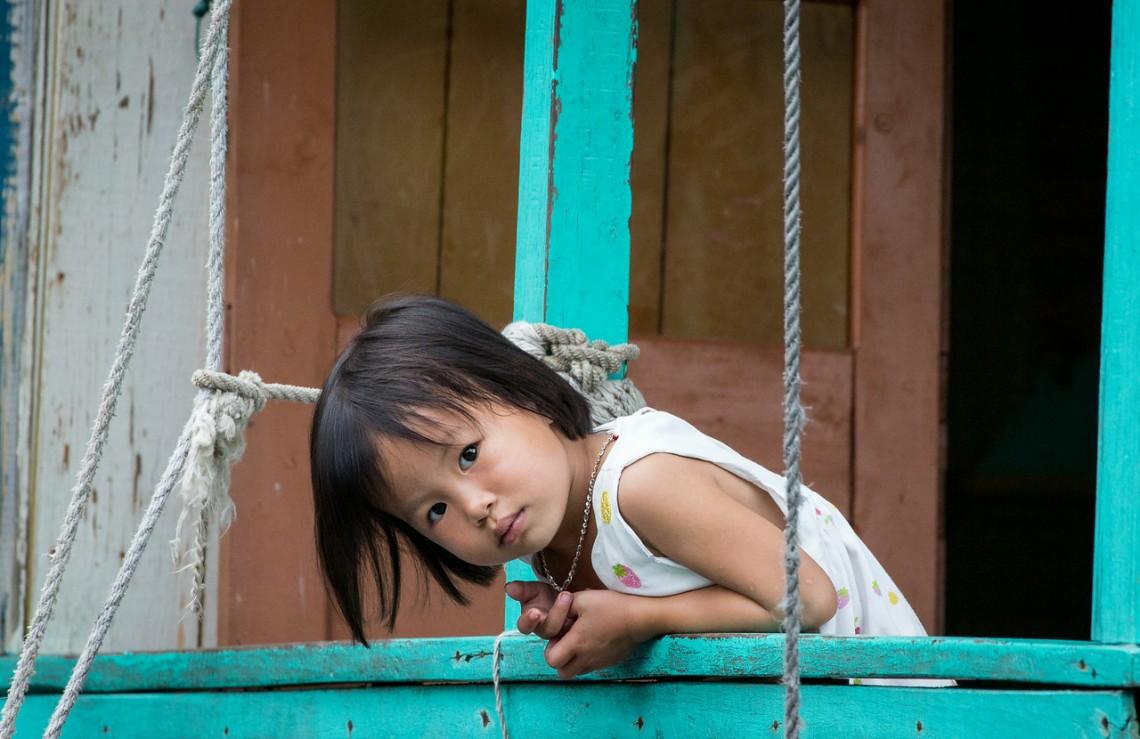 """""""Ha Long Bay, Vietnam: floating village"""""""