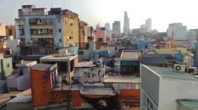 越南的蛋黃區與台北無異