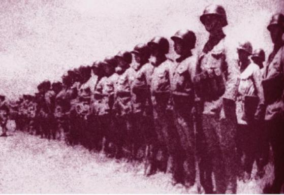 入越受降之中國第一方面軍部隊
