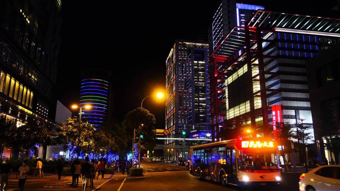 台北信義區夜景