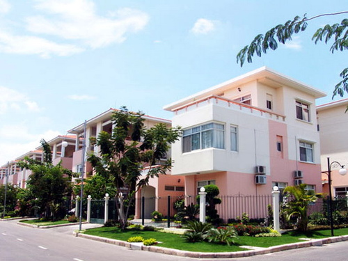 西貢的新城市地區