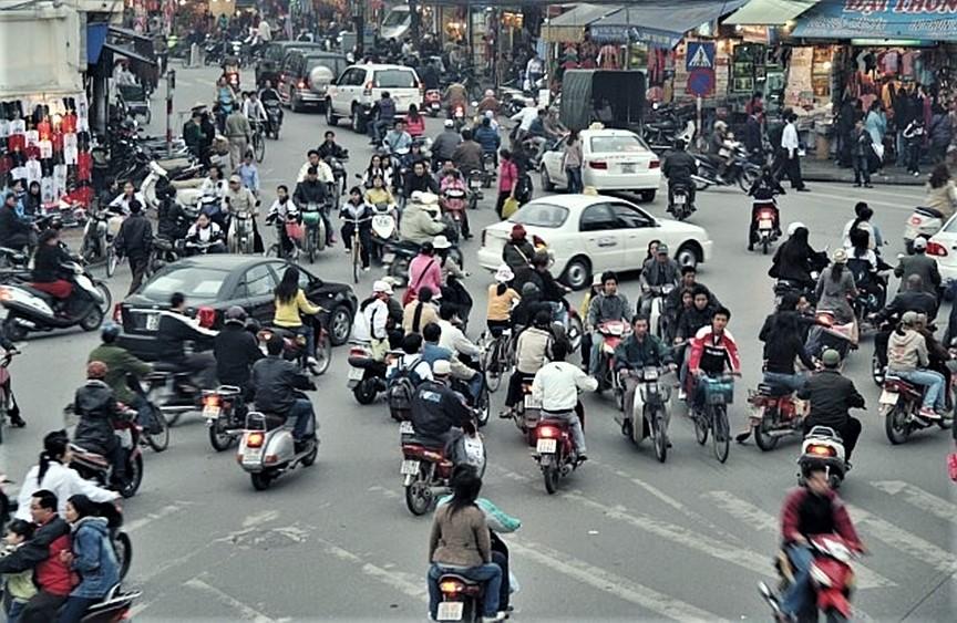 越南道路喇叭聲