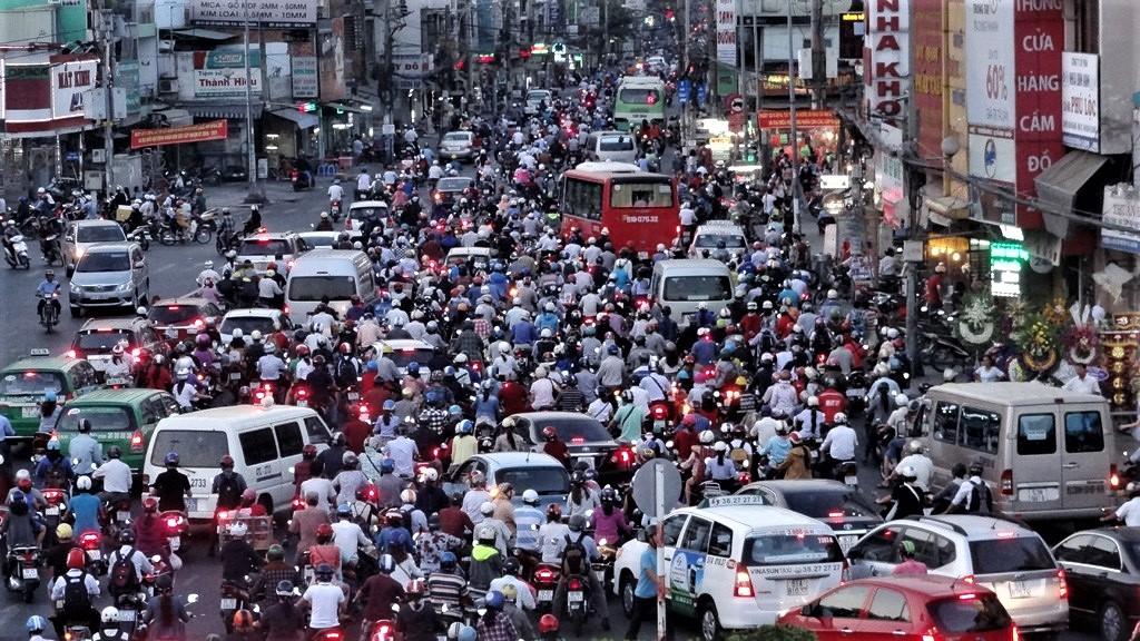 越南道路喇叭聲4