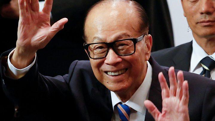 首富李嘉誠於1980年代給美個《新聞周刊》譽為「香港超人」