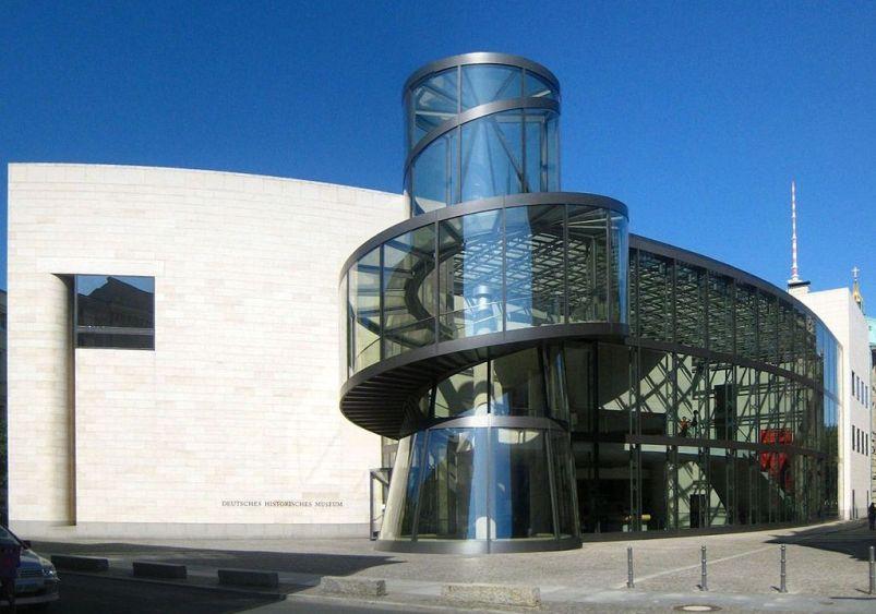 德國歷史博物館博物館螺旋形樓梯塔,由貝聿銘設計(Treppenturm,_Deutsches_Historisches_Museum,_Berlin)