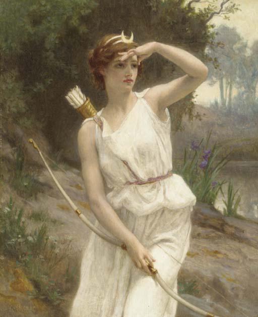 Guillaume_Seignac_-_Diana,_The_Huntress